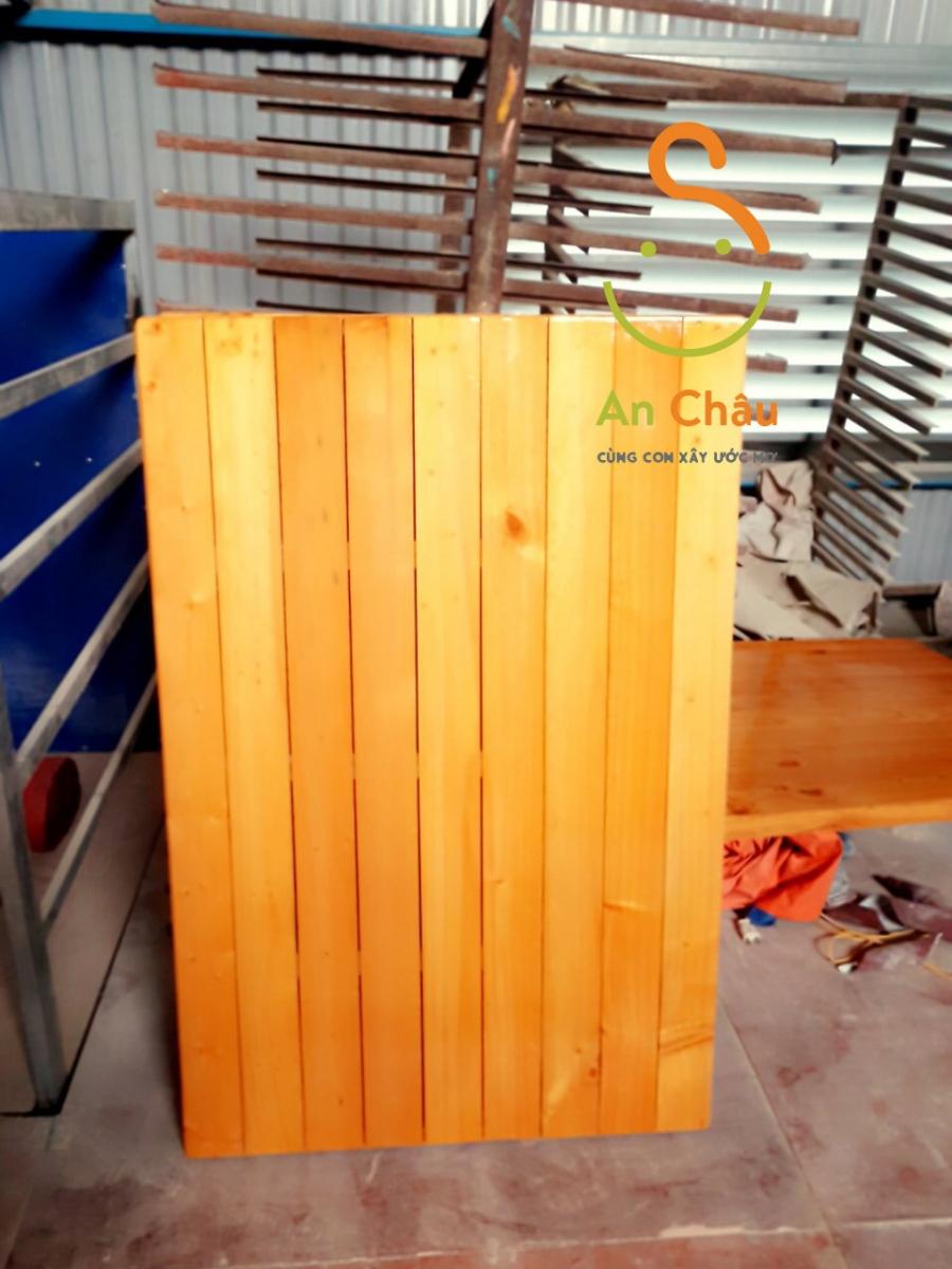 phản gỗ thông